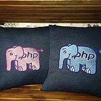 Подушка со слоником PHP