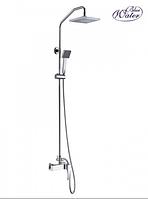 Настенный комплект с душевой головой и душем Blue Water liw - zkpn.400cхром, фото 1