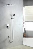 Смеситель подштукатурный для душа с душевой головой и душем Blue Water liw-zkp.150, фото 1