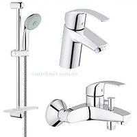 Grohe Eurosmart 123238S умывальник, ванна, стойка