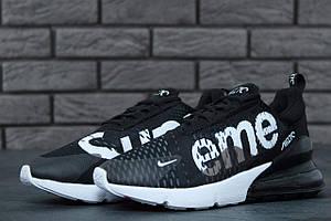 Кроссовки Nike Air Max 270 Supreme Black White