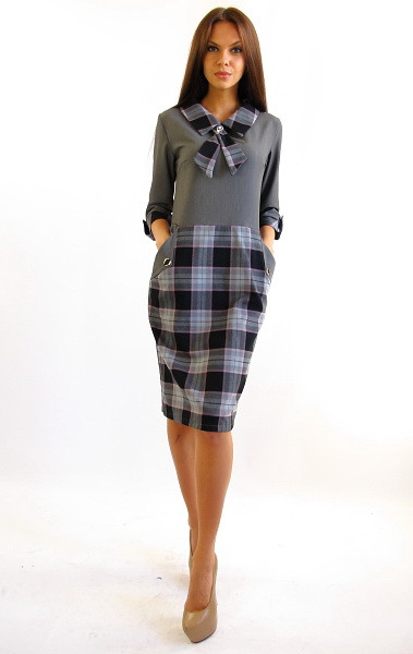 Жіноче плаття офісного стилю