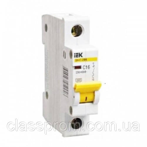 Автоматичний вимикач ВА47-29 1P 2 A D IEK