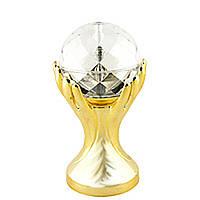 Настольный Проектор Сфера на Ладони Ночник от Сети Светодиодная Диско-Лампа