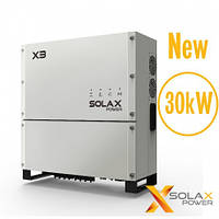 Трехфазный сетевой инвертор Solax X3-30-T