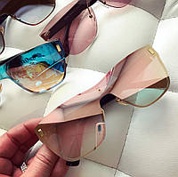 Женские яркие безободковые очки (разные цвета)