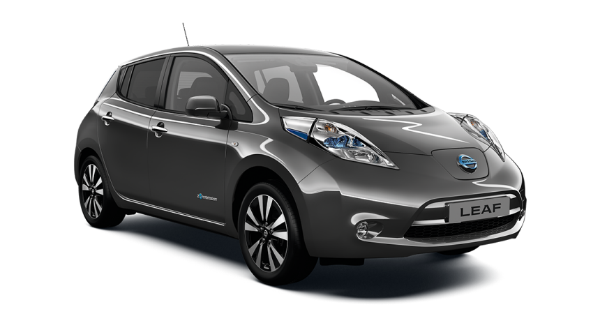 Лобовое стекло Nissan Leaf с местом под датчик и молдингом (2011-)