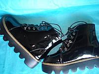 Демисезонные ботинки на девочку подростка Размеры 37, 40