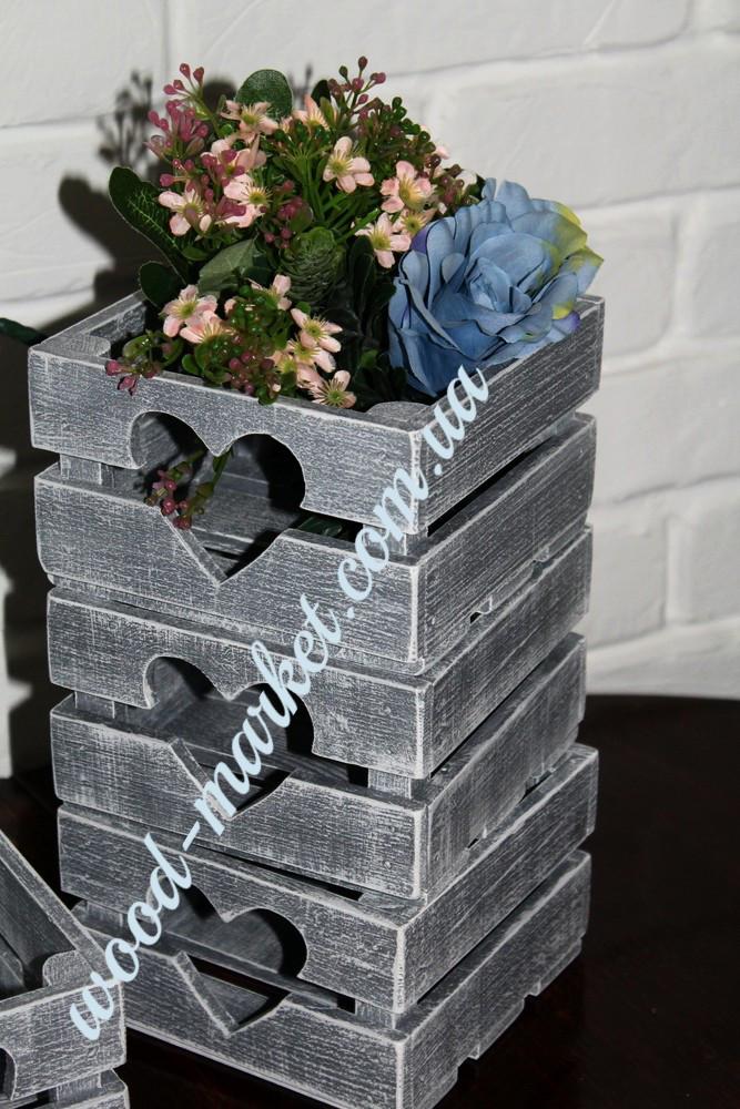 Ящичек для свадьбы прованс