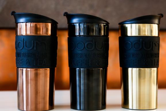 Термокружка Bobum Travel Mug Copper 350 мл (11068-18S), фото 2