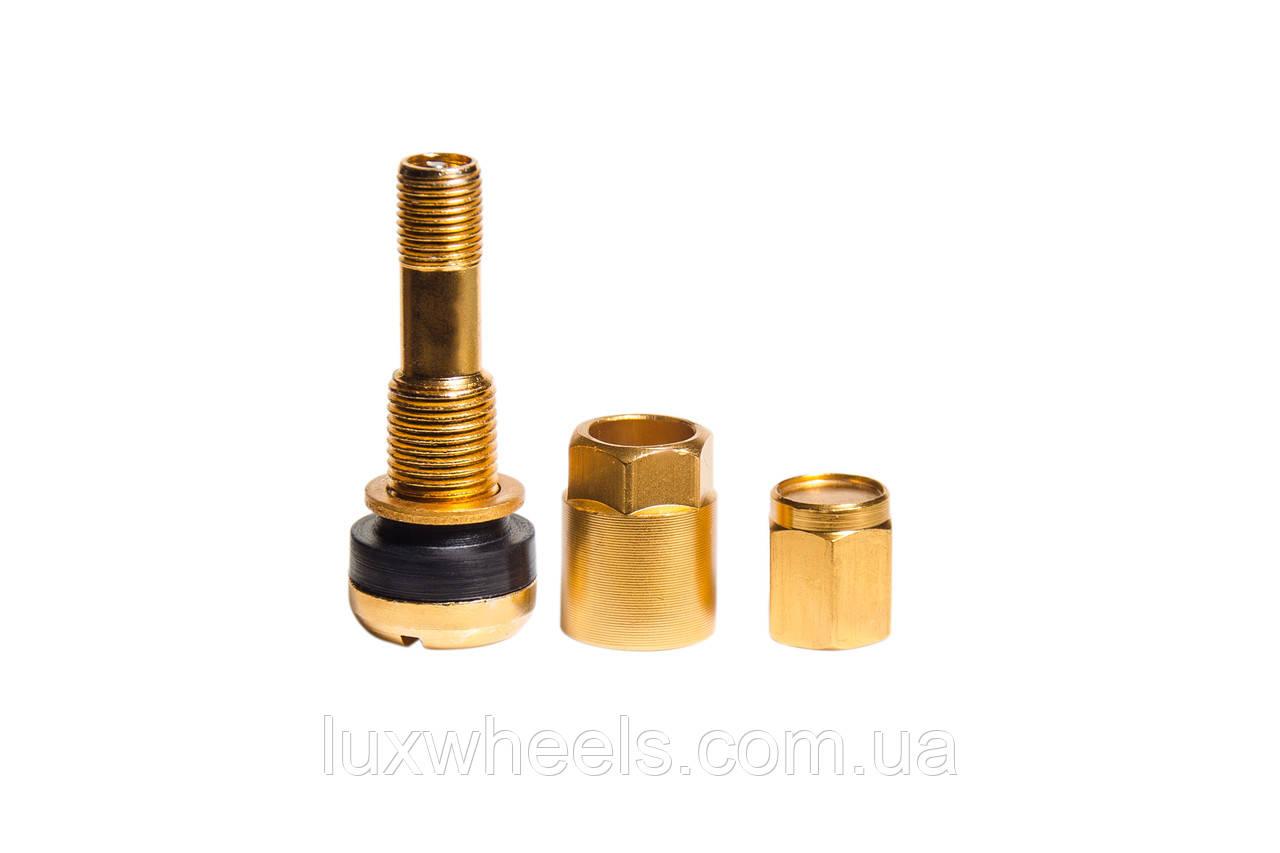 Ниппель, вентиль легковой разборный, цвет золотой