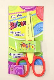 """Ножницы с фигурными лезвиями Kidis 7260 """"Зиг-заг"""" (130 мм., лезвия 60 мм.) 6 видов"""