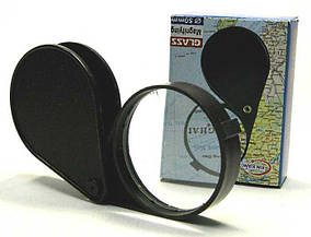 "Лупа ""Glass"" 1093 складная (диаметр 50 мм.)"