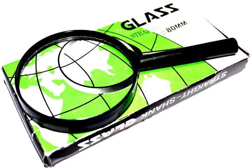 "Лупа ""Glass"" 8401 (диаметр 80 мм.)"