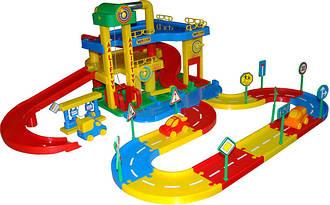 Железная дорога и паркинги
