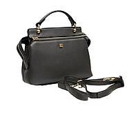 Женская сумка среднего размера и плечевым ремнем