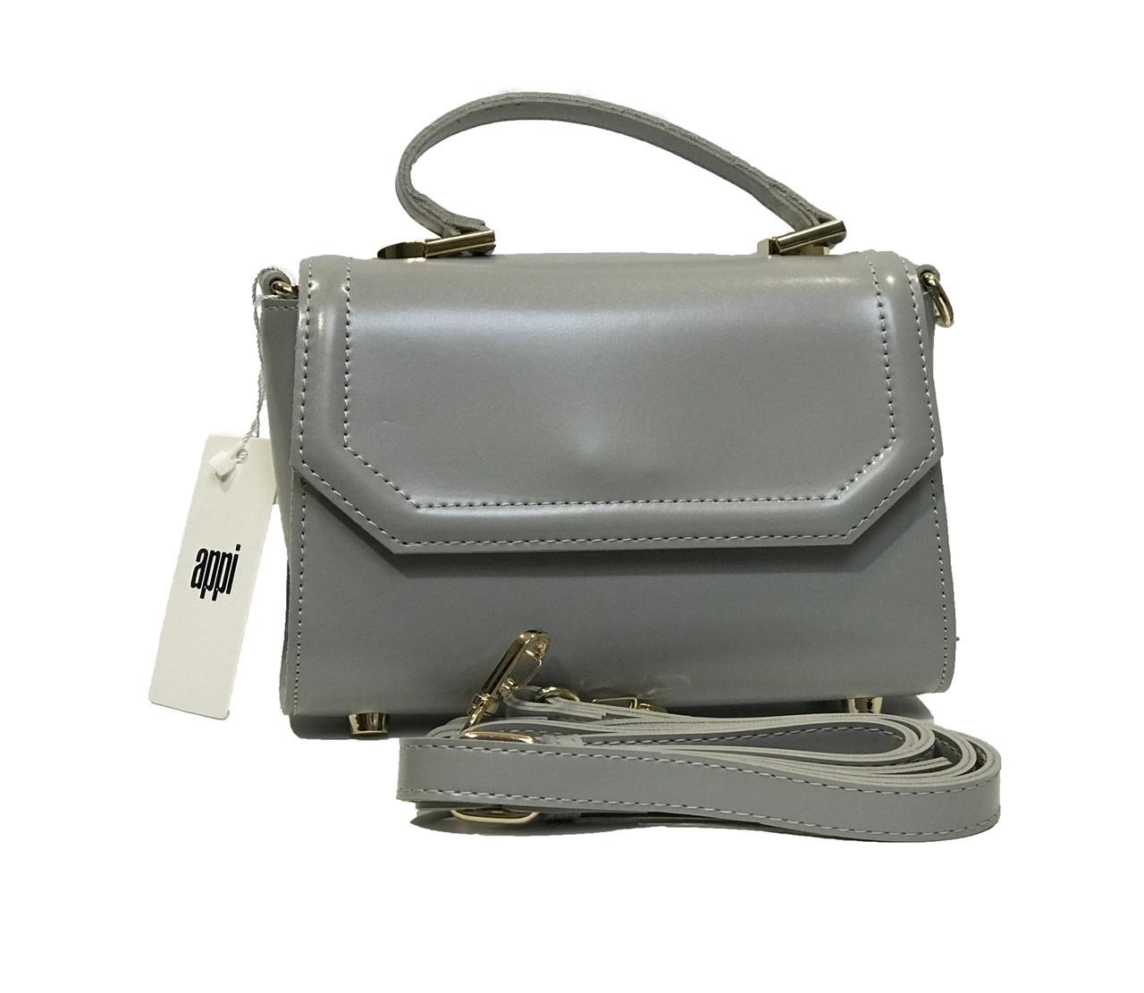 Женская сумка из кожы