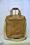 Кожаная мужская сумка VS152  А4, фото 3