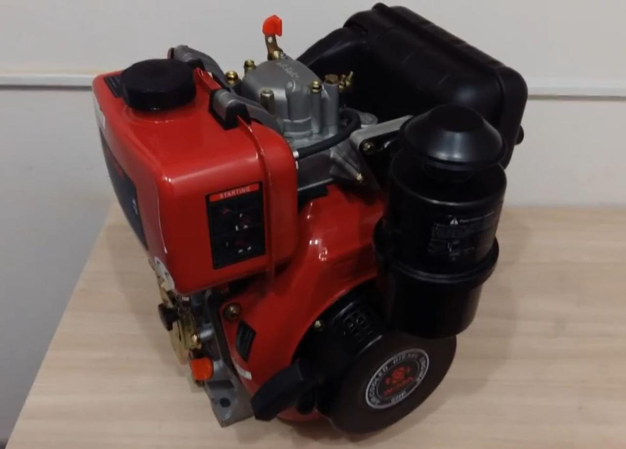 Дизельный двигатель Weima WM178F (вал шпонка)