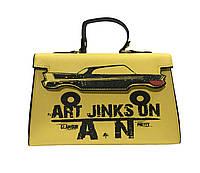 Красивая женская сумка с рисунком