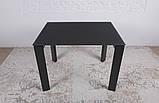 Стеклянный раскладной стол BRISTOL B 130/200*85 графит Nicolas (бесплатная адресная доставка), фото 6