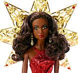 Колекційна лялька Барбі Ніккі Святкова - 2017 Holiday Barbie Nikki, фото 4
