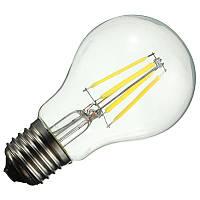 Светодиодная прозрачная лампочка 6ВТ LM338 E27 4000-4500K, фото 1