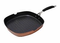 Сковорода-гриль 28X28 см. Infinity chefs Cook&Chef BGIC-1004