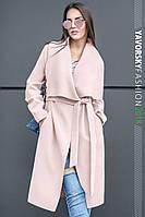 """Женское кашемировое пальто """"Софи"""" с карманами"""