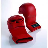 Перчатки для карате Tokaido. Цвет красный