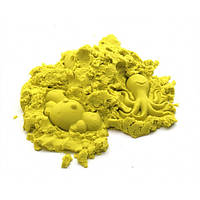 Кинетический песок желтый - 1000 грамм