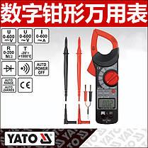 Цифровые измерительные клещи Yato YT-73091, фото 3