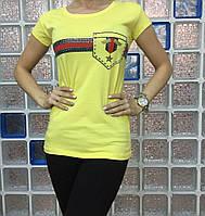 Женская стильная футболка, фото 1
