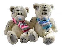 Мягкая игрушка Медведь Тедди с шарфом (14 см) №45062-2