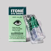 Глазные капли Айтон, Itone, 10 мл - восстановление зрения, снятие усталости глаз, при коньюктивитах