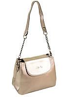 Сумка Женская Классическая иск-кожа ALEX RAI 1606 golden продажа женских сумок Одесса 7 км