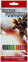 Карандаши цветные трехгранные KITE 2013 Transformers 053 (TF13-053K)