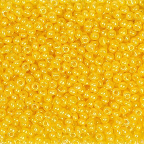 Бисер чешский 17386 5гр желтый