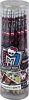 Карандаши графитные с резинкой (тубус, 36 шт) KITE 2014 Monster High 056 (MH14-056K)