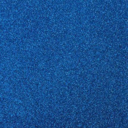 Фоамиран с блестками СИНИЙ 10 листов (2мм/20*30cm), фото 2