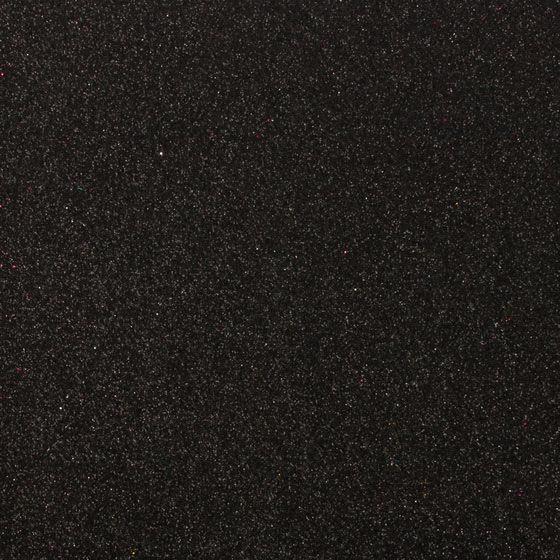 Фоамиран с блестками ЧЕРНЫЙ 10 листов (2мм/20*30cm)