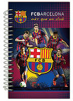 Блокнот А5 (80 листов, картон, спираль) KITE 2014 Barcelona 221 (BC14-221K)