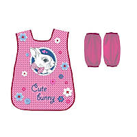 Фартук с нарукавниками KITE 2017 Cute Bunny 162 (K17-162)