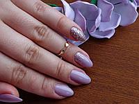 Стильное фаланговое кольцо с золотой пластиной , фото 1