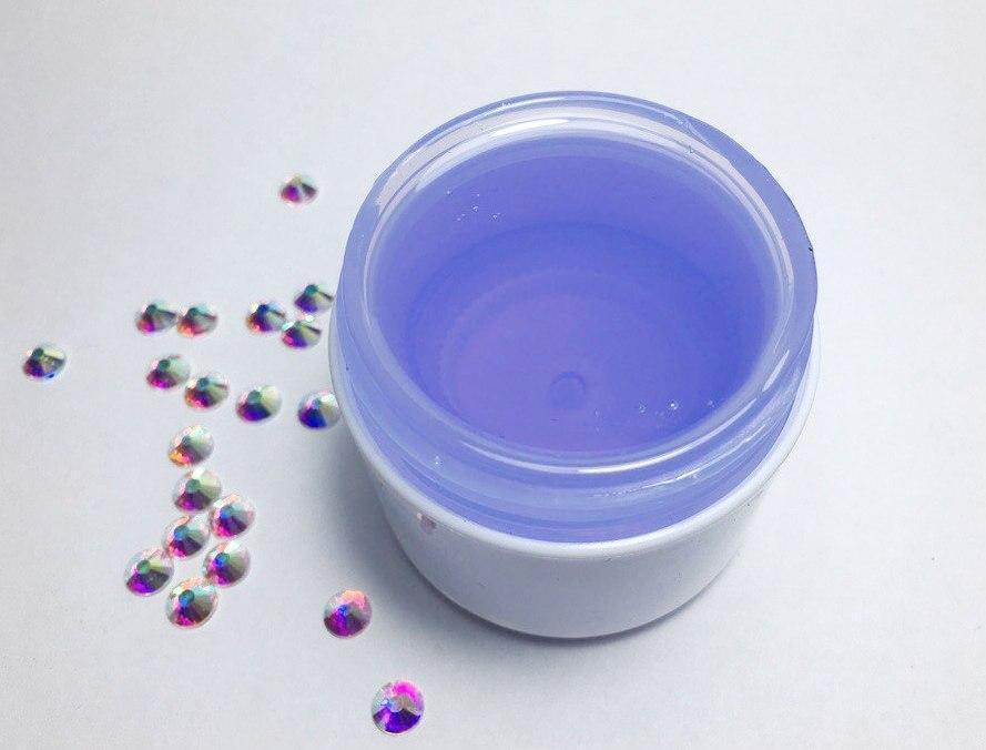 Гель Violet прозрачно-голубой, 100 мл.