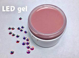 Гель LED Cover Pink камуфляж, 30 мл.