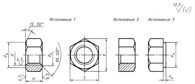 Гайка M42 ГОСТ 5915-70 класс прочности 10.0 купить