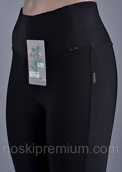 Лосины женские бамбук+микромасло Kenalin, размер M-L (42-46), чёрные, 9506