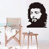 РАСПРОДАЖА! Виниловая наклейка - Портрет человека Че Гевара