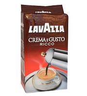 Lavazza Crema e Gusto Ricco кофе молотый, 250 г